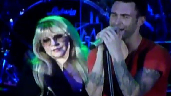 Video: Adam Levine Duets with Stevie Nicks!