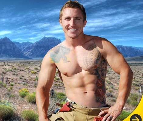 Sexy Firemen Go Shirtless for New Calendar