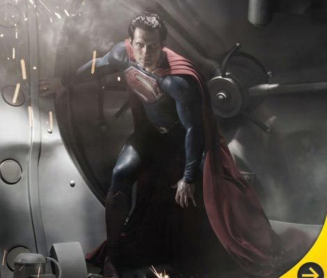 First Look: Henry Cavill as Superman in 'Man of Steel'