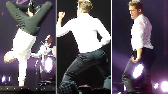 Video: Matthew Morrison's Michael Jackson Moves!
