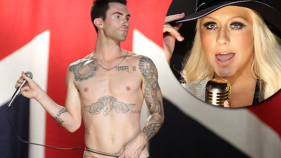 Video Debut: Adam Levine & Christina Aguilera's 'Moves Like Jagger'
