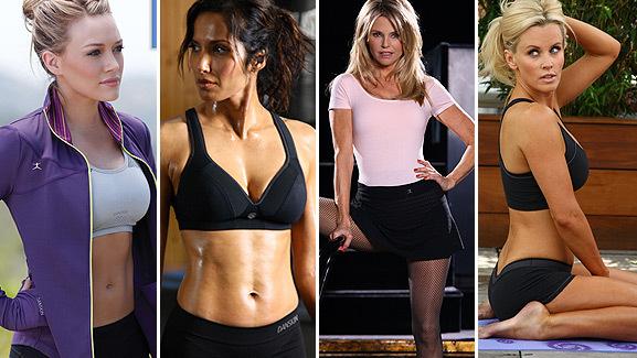 Hilary, Jenny, Padma & Christie Show Skin for Danskin