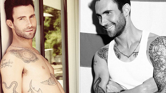 Adam Levine Strips, Slams 'American Idol'