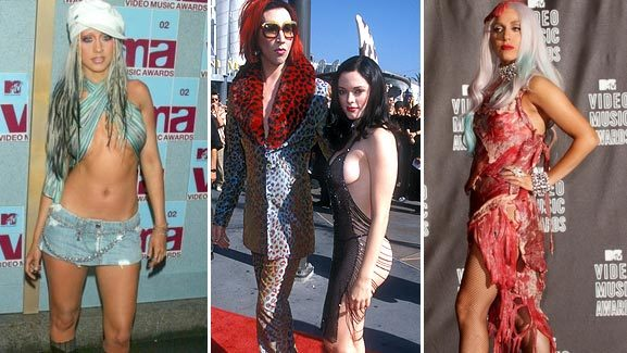 Wild Outfits from MTV Video Music Awards' Past