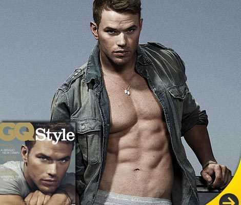 Eye Candy: Kellan Lutz Bares Bod ... Again!