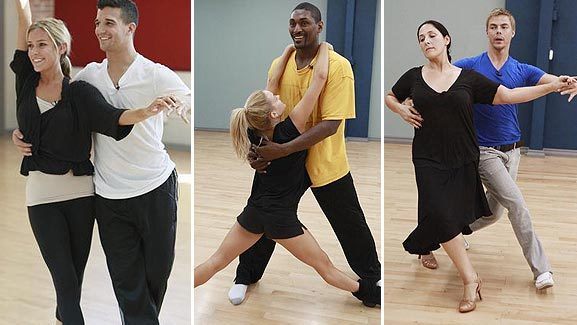 'Dancing with the Stars': The Rehearsal Shots
