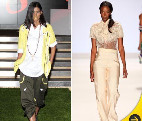 'Top Models' Strut Their Stuff At Fashion Week