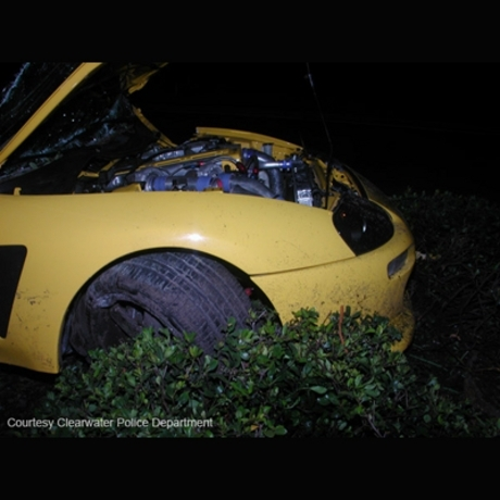 Nick Bollea's car crash.