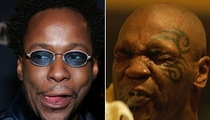 Bobby Brown Comforted by Mike Tyson