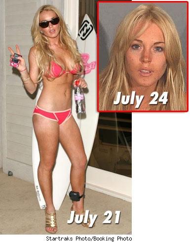 Lindsay lohan on drugs