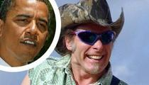 Nugent Blows a Gasket Over Hillary and Barack