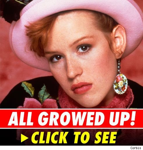 Molly ringwald 39 memba her for What does delta burke look like now