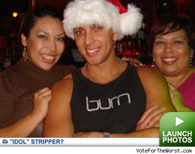David Hernandez used to be a stripper reality blurred