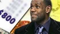 Waiter Calls Foul on LeBron James