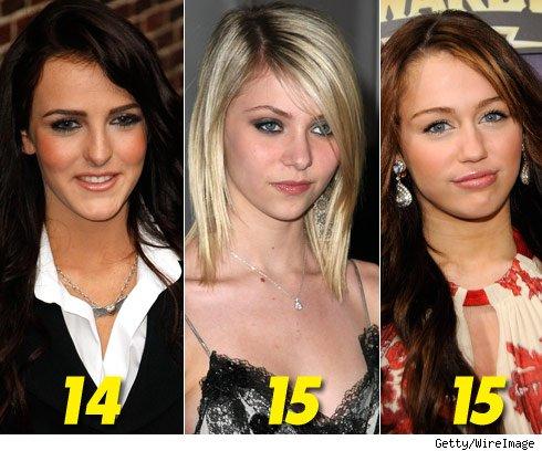 Teen stars botox ready for Teen girl movie stars