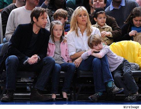 David Duchovny Kids | ...