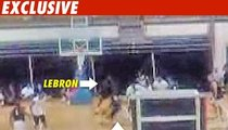 LeBron James -- The Secret Dunk EXPOSED!