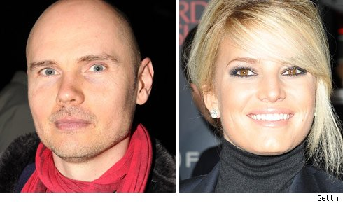 Billy Corgan & Jessica Simpson