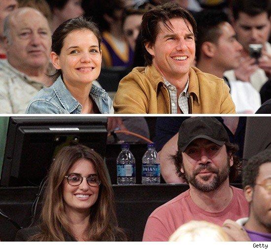 Tom Cruise, Katie Holmes, Penelope Cruz & Javier Bardem