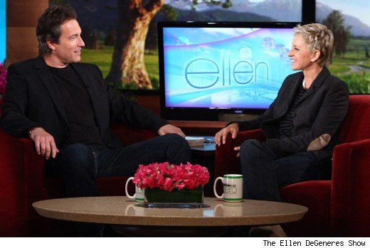 John Corbett & Ellen DeGeneres