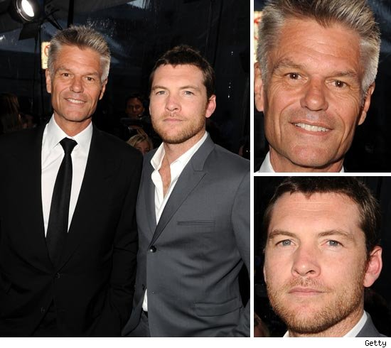 Harry Hamlin and Sam Worthington