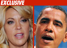 Kate Gosselin Shacks Up with President Obama