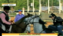 Jockey Gets Bucked During Al Roker Interview