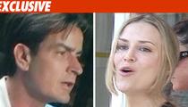 Charlie Sheen, Brooke Prepare for Divorce