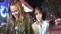 Bieber's Older Woman -- Miley Cyrus?!