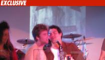 NY Jets QB & Lance Bass Double Team Bon Jovi