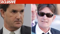 Charlie Sheen Used Wife's Lawyer to Cut Deal