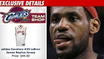 Cleveland Pulls LeBron Jerseys from Team Shop