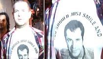 Osbourne Turns Mel's Rant into Fashion Statement