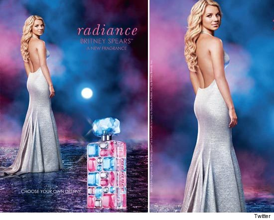 Britney Spears Perfume - Radiance Ad