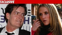 Charlie Sheen -- Coast Is Clear for Divorce