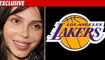 Oksana Gets Clutch Assist from L.A. Lakers