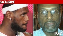 LeBron James Scoffs at Paternity Lawsuit