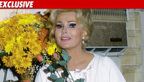 Zsa Zsa Gabor Rushed to Hospital -- Water in Lungs