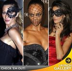 Gisele, Tyra, Dita: Masked Beauties!