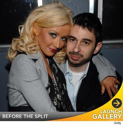Christina Aguilera divorce.