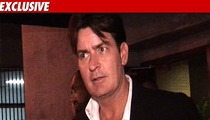 Charlie Sheen -- No Rehab for Now