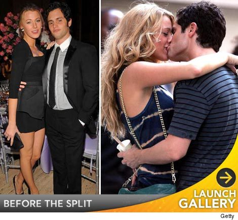 Blake Lively Penn Badgley break up.