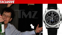 Charlie Sheen's Missing Watch -- Super RARE