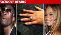 Chad Ochocinco Proposes ... With 10 Carat Ring