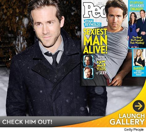 Sexiest Man Alive 2010 - Ryan Reynolds
