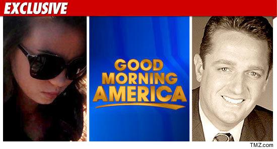 Good Morning America Intruder Interview : Capri anderson charlie sheen s girl doing good morning