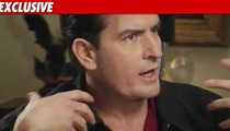 Charlie Sheen Shooting Vodka In Las Vegas