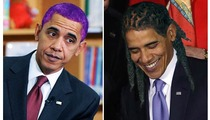 Obama -- Ba-Rockin' Some New Hairdos!