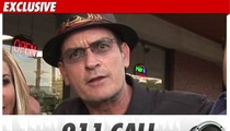 Charlie Sheen's Bender -- The 911 Call