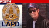 LAPD Will Not Investigate Charlie Sheen for Drugs